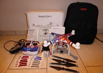DJI Phantom 3 Advanced mit Zubehör und Carbon Propeller