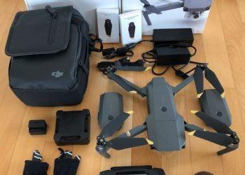 Brandneues DJI Mavic Flymore Combo mit 3 zusätzlichen Batterien & Fav Goggles