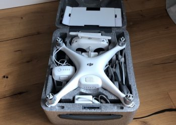 DJI Phantom 4 Pro inkl. iPad Mini