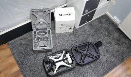 DJI Phantom 4 mit Drohnen Hardschalen Rucksack