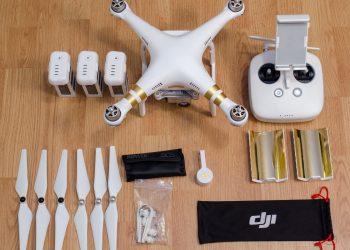 DJI Phantom 3 Professional VIEL ZUBEHÖR 3 Akkus, Manfrotto-Koffer, Ladegeräte…
