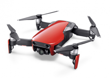 Neue Mavic Air in Rot