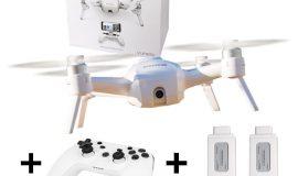 YUNEEC Breeze 4K mit Controller und zwei Akkus – Quadrocopter – 4K Kamera