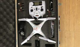 Syma X5C perfekte Anfänger Drohne + 4 Akkus + Tragetasche