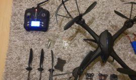 Drohne 5 mal geflogen