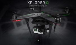 GPS drohne XIRO XPLORER G 4k für Gopro Hero 4K besser als dji Phantom!