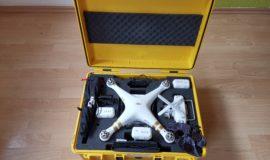 DJI Phantom 3 Pro inkl. Zubehör und Peli Case