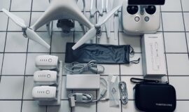 DJI Phantom 4 Pro+ Quadrocopter mit umfangreichem Zubehör