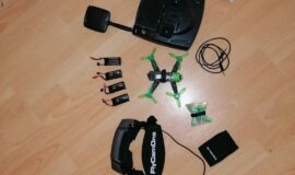 Hubsan Drohne X4 jet Racing +Fly Came