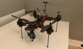 H4 450 folding frame quadcopter mit Pixhawk
