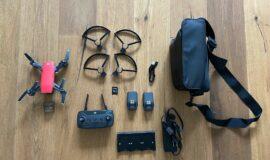 DJI Spark Drohne Fly More Combo Lava Rot