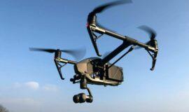 DJI Inspire 2 Paket mit Zubehör wie 4k Kamera und 4 extra Akkus