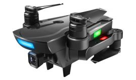 Midnight Black Brushless Motor 2.4G FPV Drone with 1080P Camera